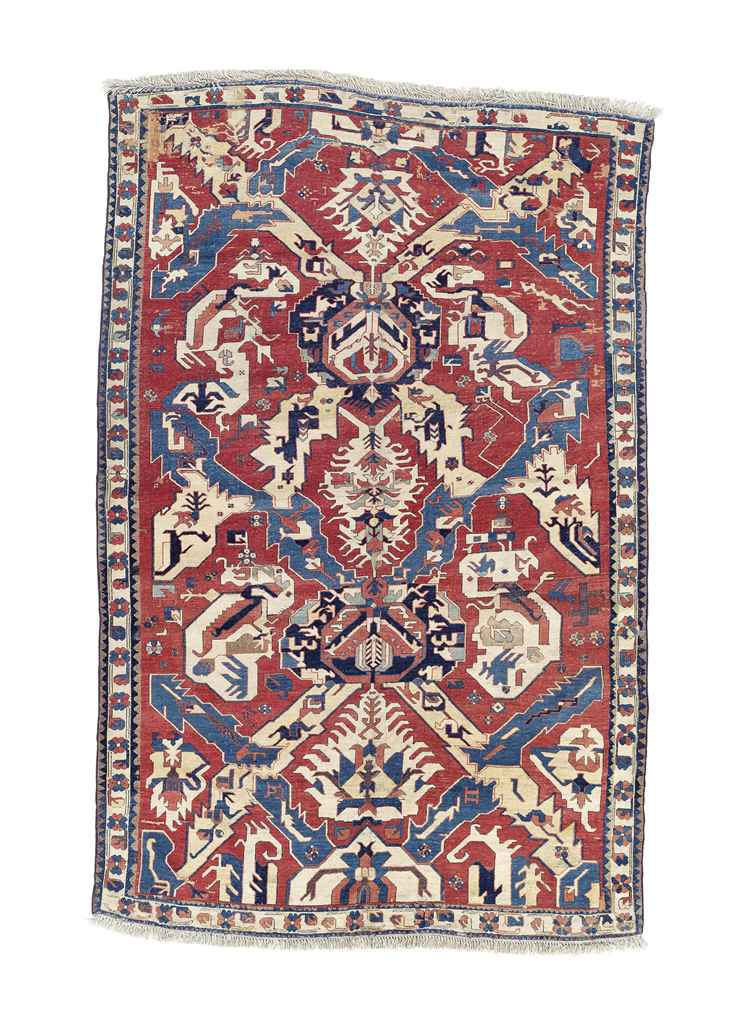 A South Caucasian Dragon Carpet Probably Karabagh Late