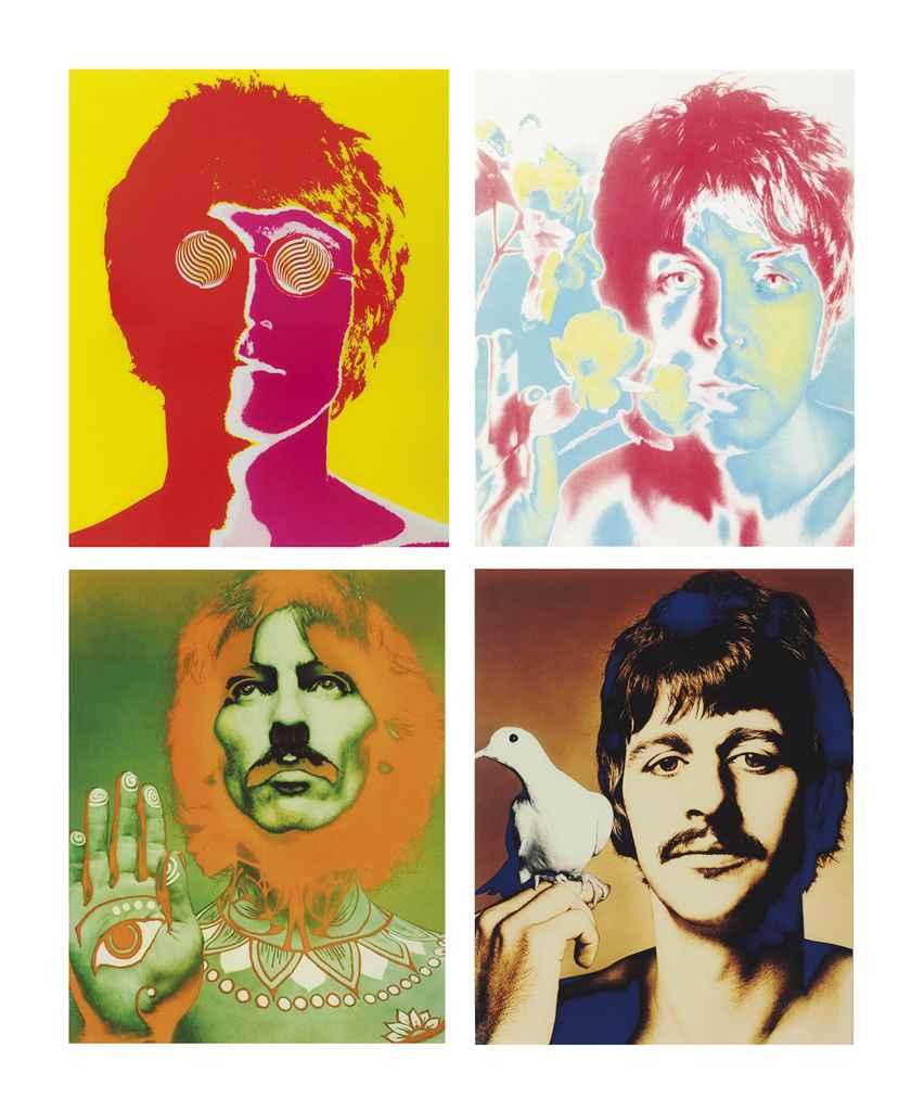 RICHARD AVEDON (1923-2004) , The Beatles, London, England ...
