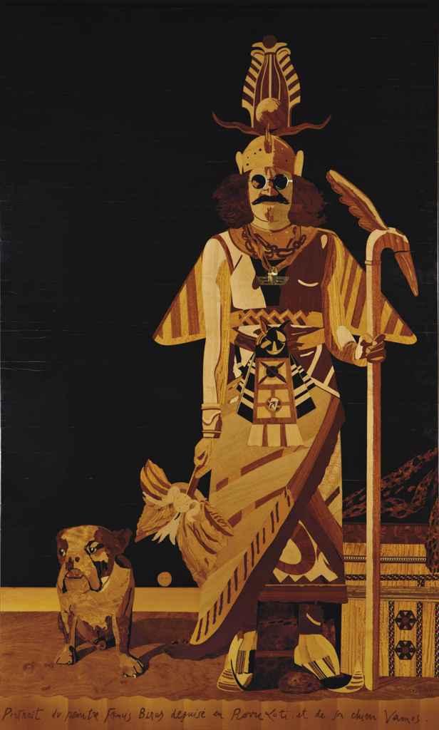 eduardo arroyo n en 1937 portrait du peintre francis. Black Bedroom Furniture Sets. Home Design Ideas