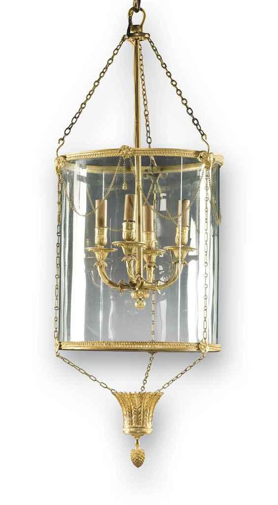 lanterne de style louis xvi xixeme siecle christie 39 s. Black Bedroom Furniture Sets. Home Design Ideas