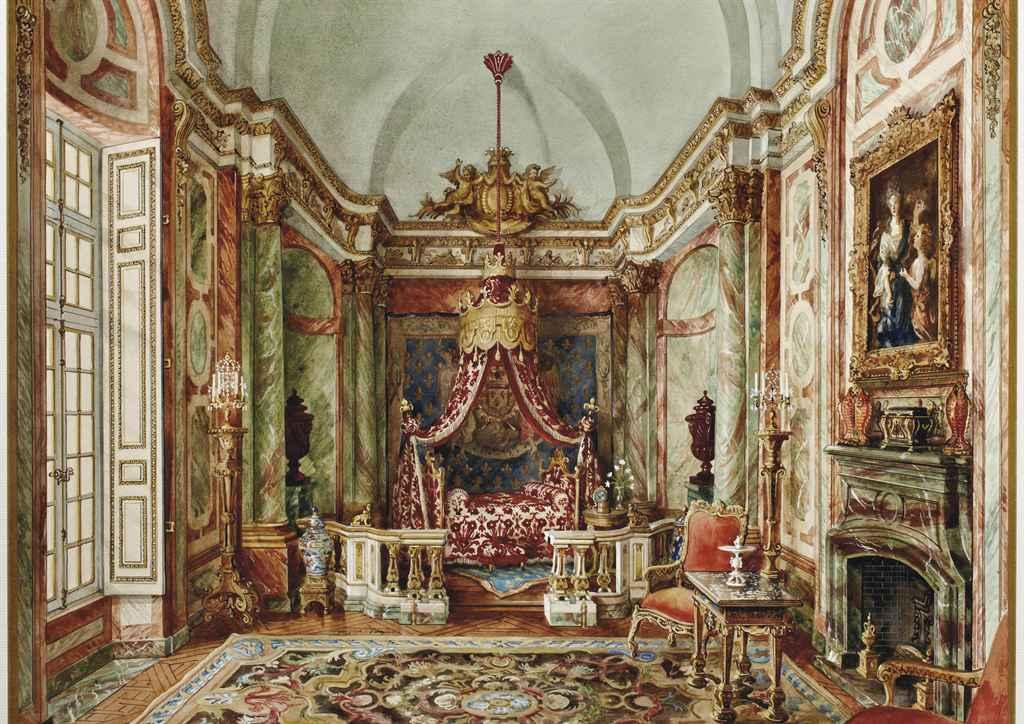 Alexandre serebriakoff 1907 1994 grande chambre h tel for Chambre d hotels