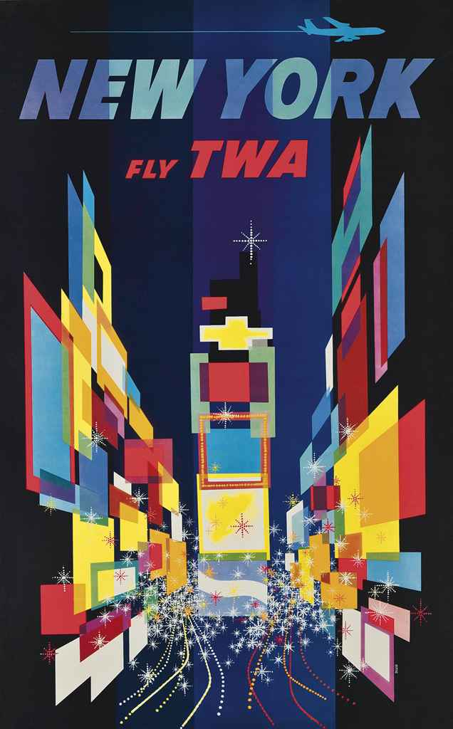 Twa Travel Posters For Sale