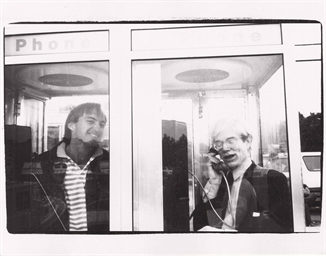 ANDY WARHOL (1928-1987) , Andy and Jon Gould, 1981-1986 ...