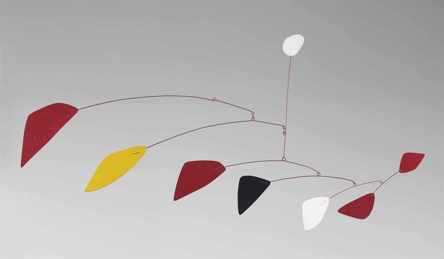 360 View Alexander Calder S White In The Air 1967