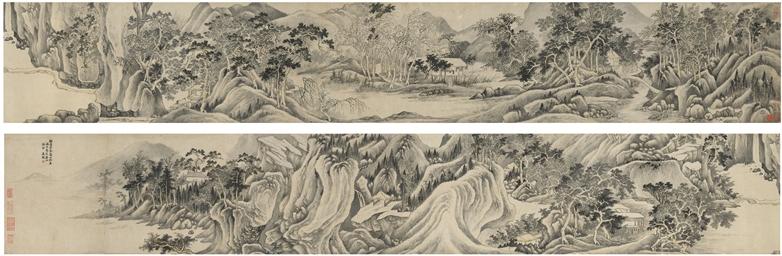 WANG JIAN (1598-1677) , Landscape after Dong Yuan | Christie's