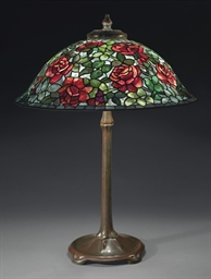 Tiffany Studios A Rose Table Lamp Circa 1910 Christie S