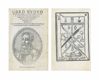 Palatino giovanni battista ca 1515 ca 1575 libro nuovo for Lettere moderne