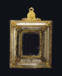 miroir rectangulaire en bronze dore et verre venise probablement xixeme siecle christie 39 s. Black Bedroom Furniture Sets. Home Design Ideas