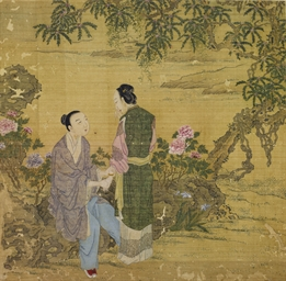 An Album Of Eight Erotic Paintings Qing Dynasty 18th