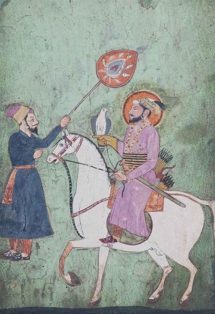 Guru Gobind Singh on Horse Guru Gobind Singh on Horseback