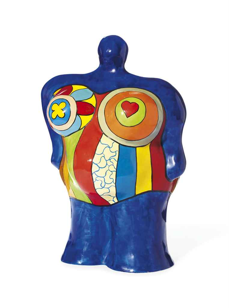 niki de saint phalle 1930 2002 nana vase christie 39 s. Black Bedroom Furniture Sets. Home Design Ideas
