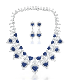 A Set Of Sapphire And Diamond Jewelry By Graff Christie S