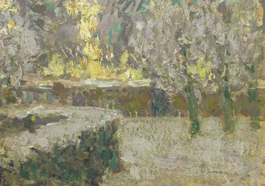 Henri le sidaner 1862 1939 paysage de neige for Agence paysage versailles