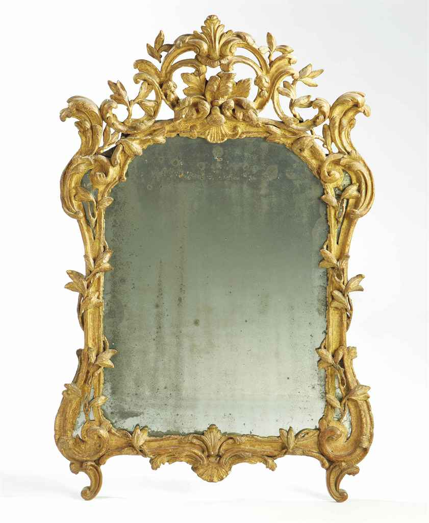 miroir d 39 epoque louis xv provence milieu du xviiieme