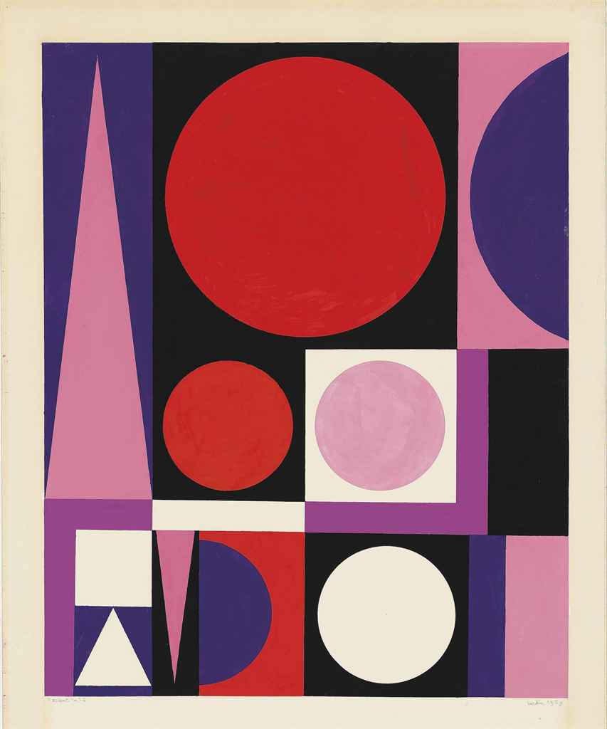 Auguste herbin 1882 1960 accent no 2 christie 39 s for Auguste herbin