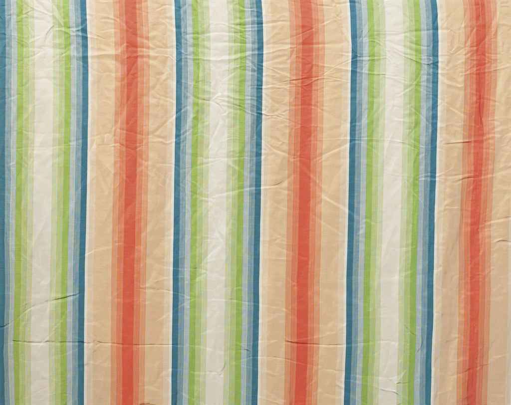 A Quantity Of Cream Yellow And Striped Curtains Modern