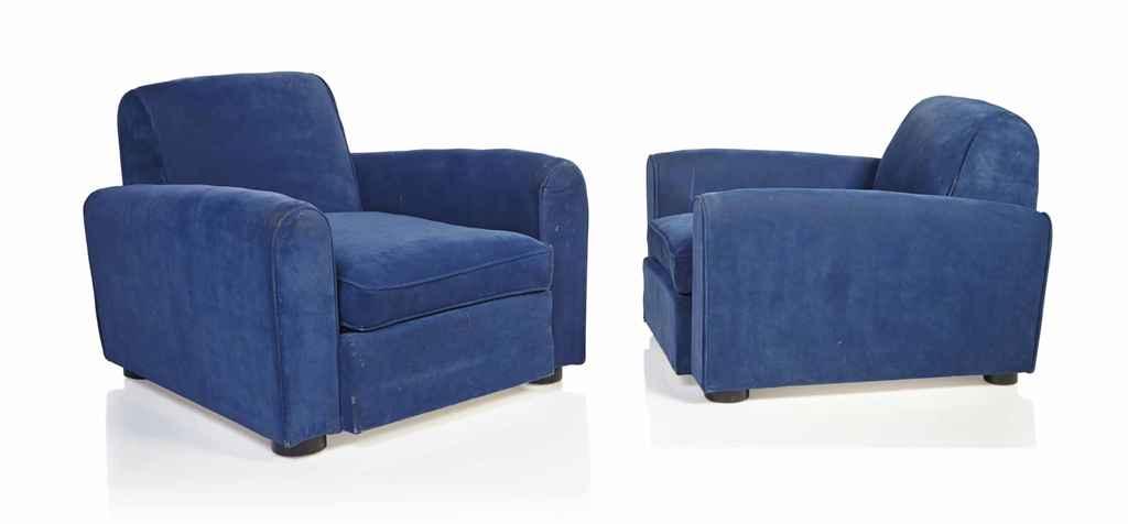 jean roy re 1902 1981 paire de fauteuils vers 1935 christie 39 s. Black Bedroom Furniture Sets. Home Design Ideas