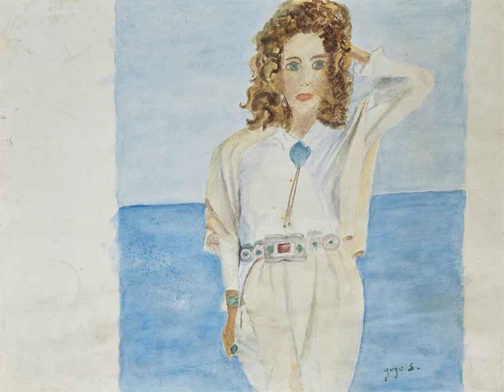 gogo schiaparelli n e en 1919 marisa au bord de la mer christie 39 s. Black Bedroom Furniture Sets. Home Design Ideas