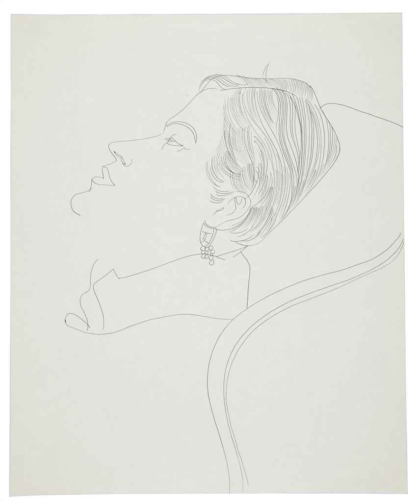 Http 2014 01 29 Never 07 Christies Andy Warhol Dance Diagram 1961 Unidentified Female D5764716g