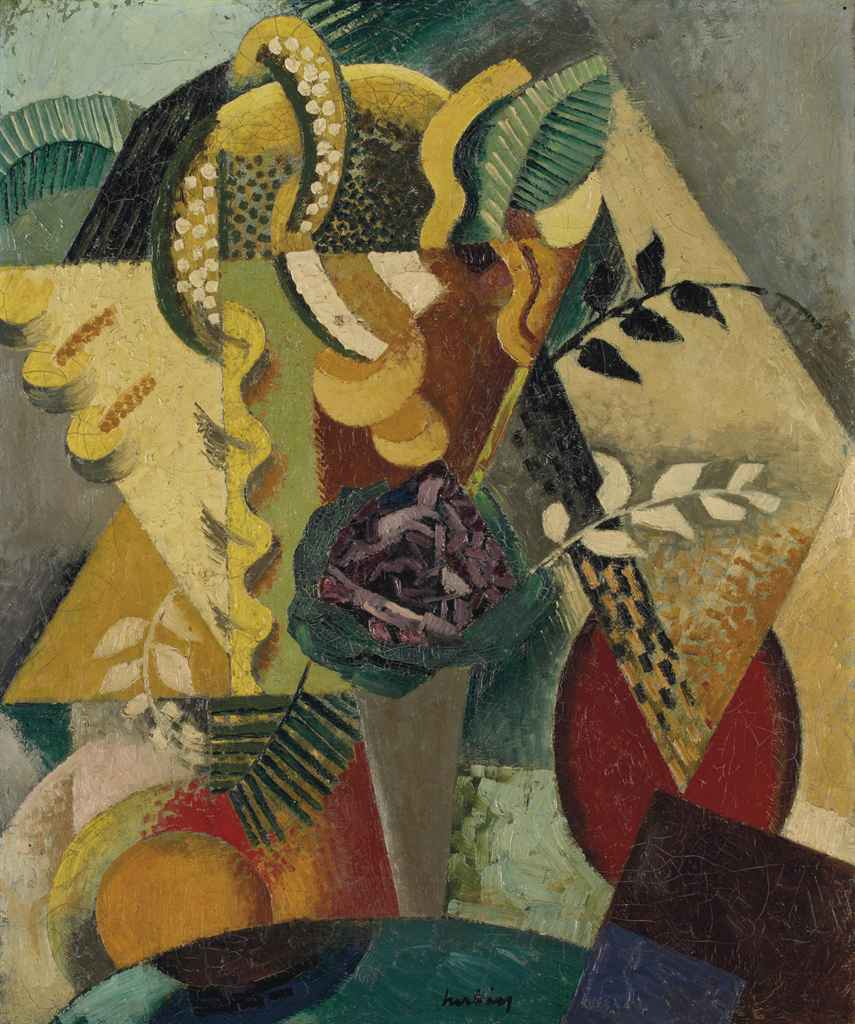 Auguste herbin 1882 1960 nature morte christie 39 s for Auguste herbin oeuvre