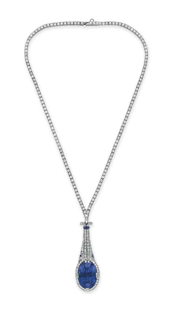 Diamond Necklace With Detachable Pendant