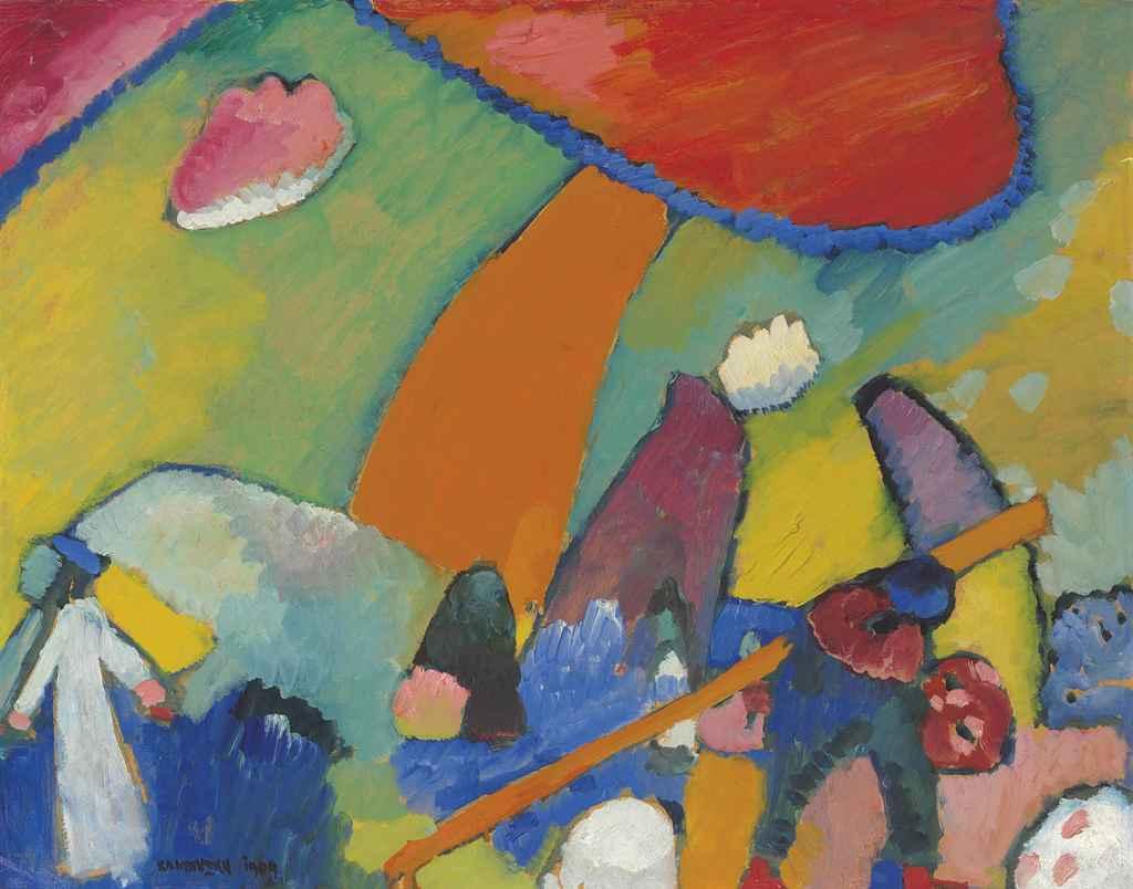 Wassily Kandinsky (1866-1944) , Strandszene | Christie's