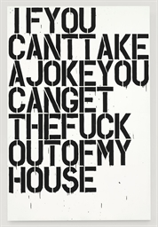 Christopher Wool B 1955 If You 20th Century Paintings