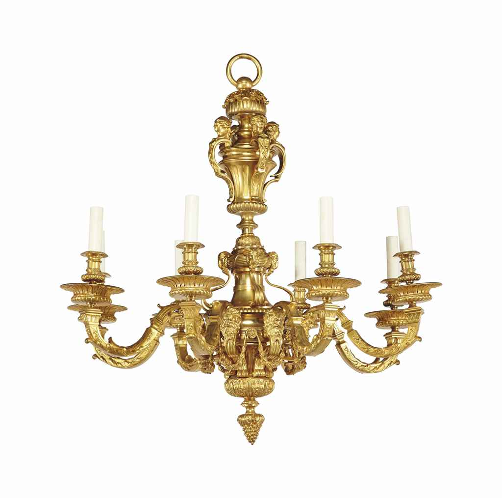 lustre de style louis xiv d 39 apres un modele d 39 andre charles boulle xxeme siecle christie 39 s. Black Bedroom Furniture Sets. Home Design Ideas