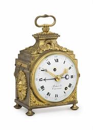 a swiss ormolu grande sonnerie pendule d 39 officier with alarm robert courvoisier no 7000. Black Bedroom Furniture Sets. Home Design Ideas