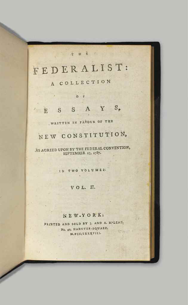 constitution defense essay federalist in new papers The federalist papers questions and answers the question and answer section for the federalist papers is a great resource to ask questions, find answers, and discuss the novel.