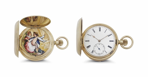 anonymous a 14k pink gold minute repeating