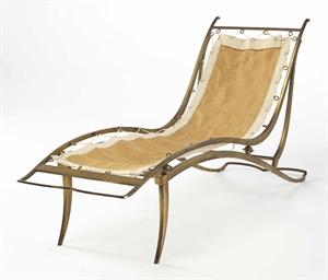 dominique andr domin et marcel genevri re chaise longue 1937 christie 39 s. Black Bedroom Furniture Sets. Home Design Ideas