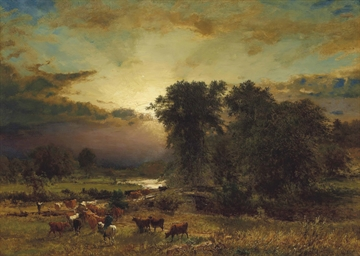 George Inness 1825 1894 Light Triumphant Christie S