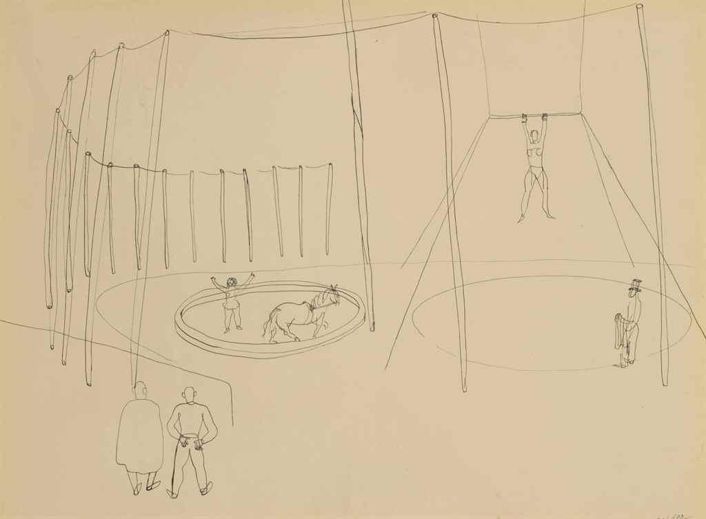 Alexander Calder Circus Drawings Alexander Calder (1898...
