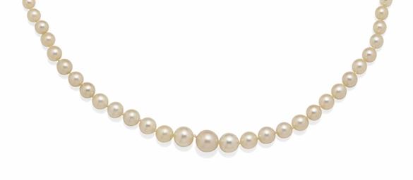 collier perles fines et perles de culture christie 39 s. Black Bedroom Furniture Sets. Home Design Ideas