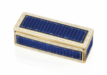a german enamelled gold snuff box by fr res jordan hanau circa 1790 struck with the st. Black Bedroom Furniture Sets. Home Design Ideas