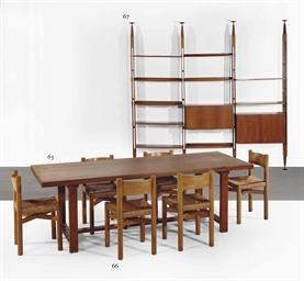 Pierre chapo 1927 1987 table de salle a manger 39 t01 for Table de salle a manger new york