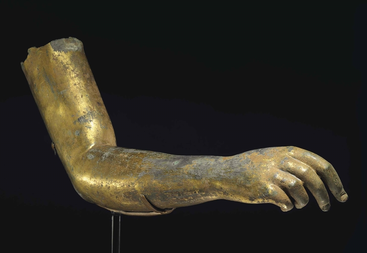 Image result for greek bronze hand