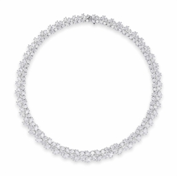 A Diamond Wreath Necklace By Harry Winston Christie S