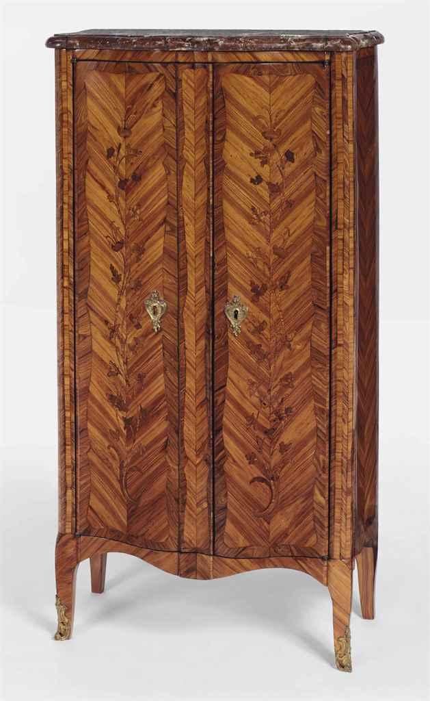 armoire d 39 entre deux de style transition christie 39 s. Black Bedroom Furniture Sets. Home Design Ideas