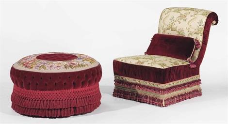 chauffeuse d 39 epoque napoleon iii seconde moitie du. Black Bedroom Furniture Sets. Home Design Ideas
