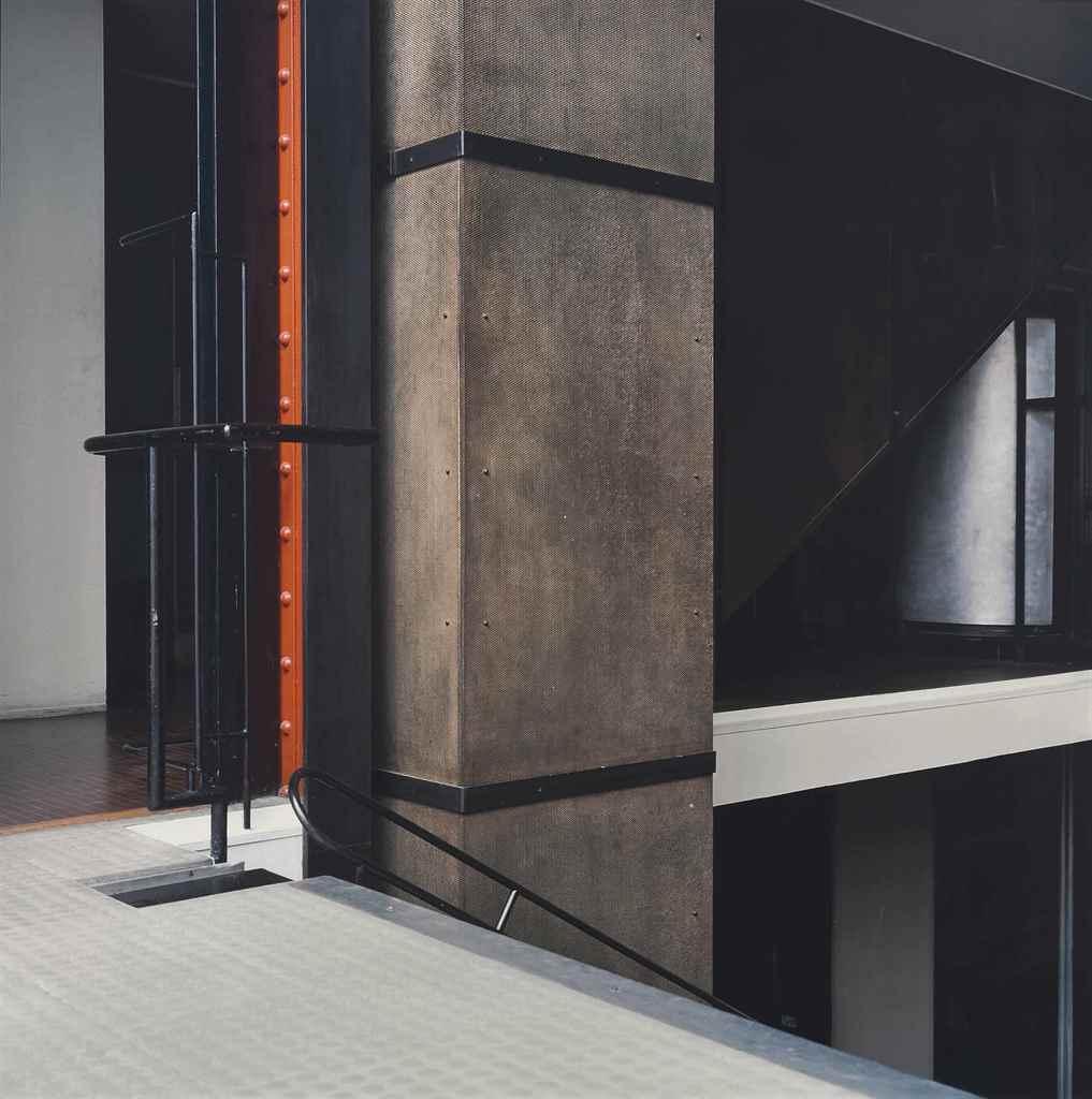 lynn davis b 1944 glass house architect pierre chareau paris 2001 christie 39 s. Black Bedroom Furniture Sets. Home Design Ideas