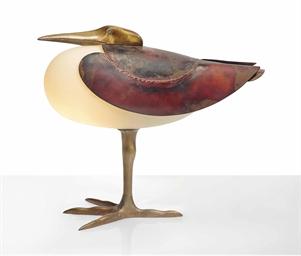 Francois xavier lalanne 1927 2008 lampe echassier for Lampe kartell bourgie petit modele