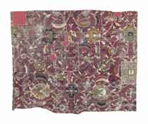 AN ISFAHAN CARPET FRAGMENT