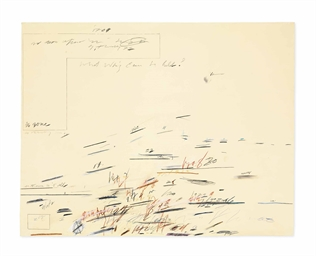 Cy Twombly's Extravagant Synesthesia