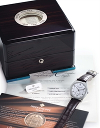 Patek philippe a fine and rare stainless steel limited for 901 salon prices