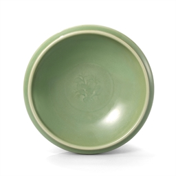 A Rare Longquan Celadon Bowl Yuan Dynasty 1279 1368 All Other Categories Of Objects Bowls Christie S