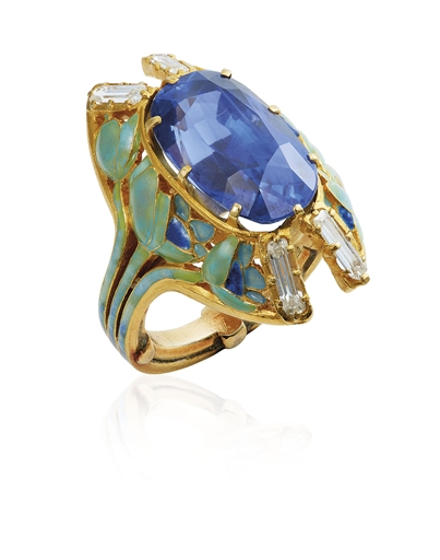 Bague Argent Art Nouveau : The oppenheimer blue diamond christie s