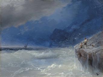 Ivan Aivazovsky 1817 1900 Stormy Seas Christie S