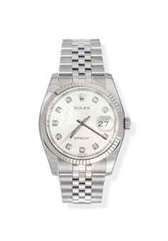 A STAINLESS STEEL AND DIAMOND-